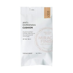 Anti-Darkening Cushion V203  (Miracle Finish) (Refill)